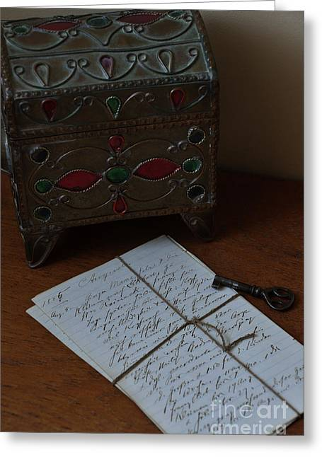 Memories Greeting Card by Birgit Tyrrell