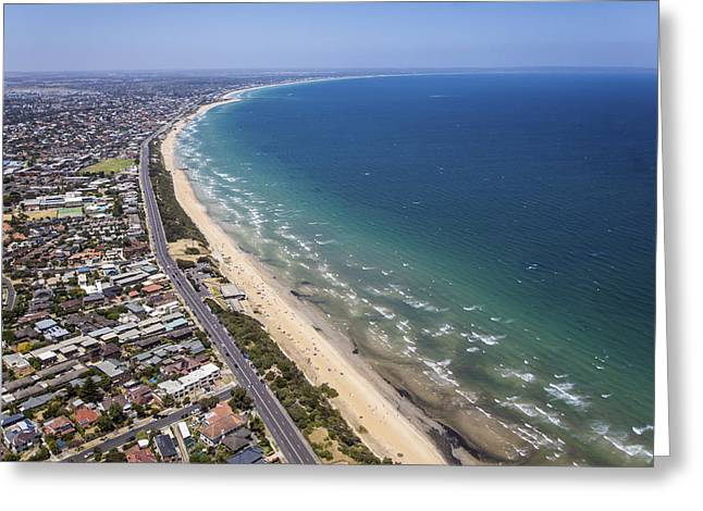 Mentone Beach, City Of Kingston Greeting Card