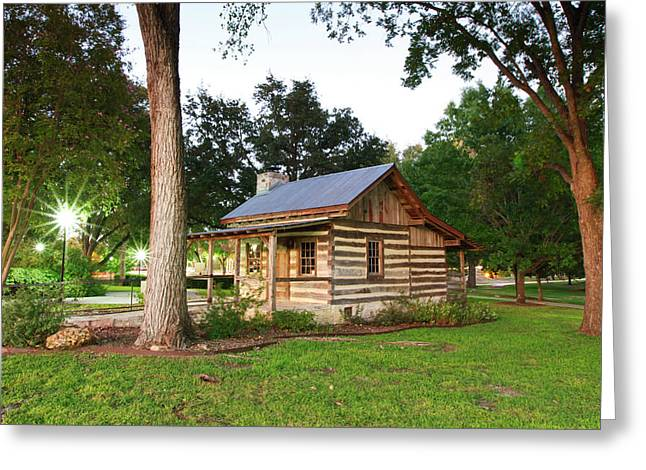 Merriman Cabin Historic Structure Greeting Card