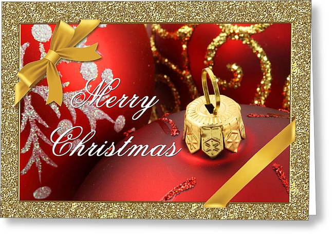 Merry Christmas Card Greeting Card