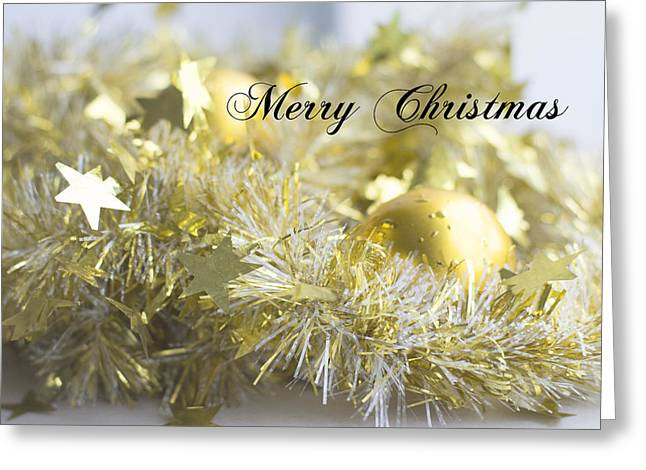 Greeting Card featuring the photograph Merry Christmas by Jocelyn Friis