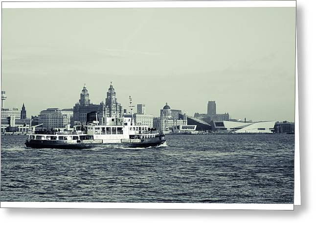 Mersey Ferry Greeting Card