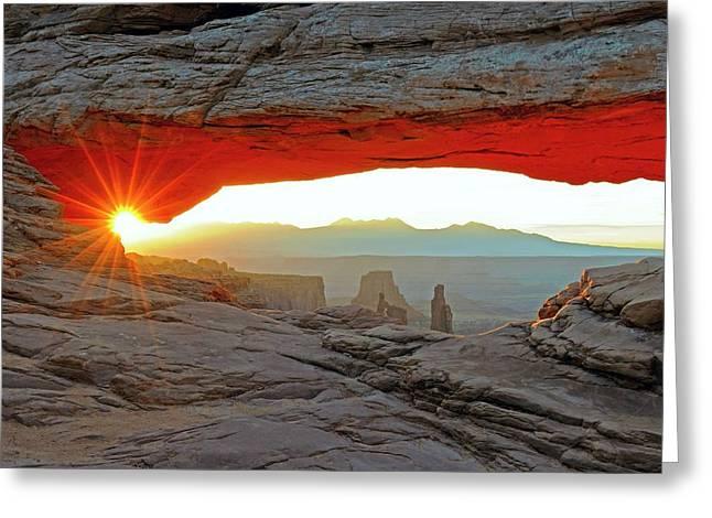 Mesa Arch Greeting Card by Bildagentur-online/mcphoto-schulz