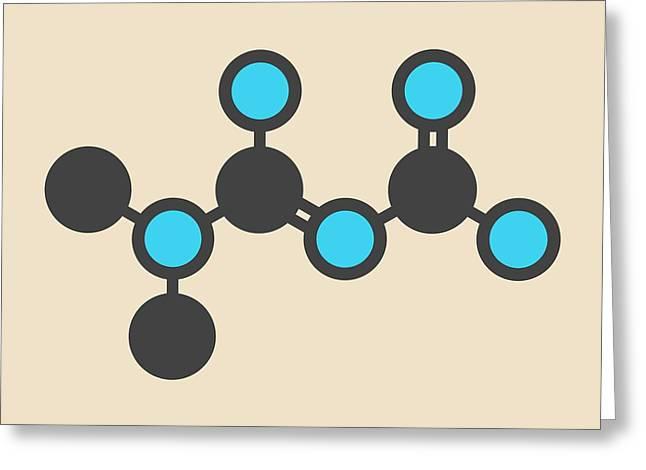 Metformin Diabetes Drug Molecule Greeting Card by Molekuul