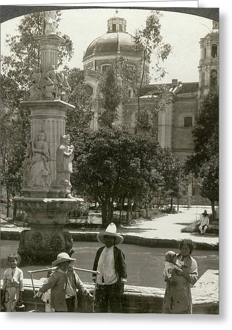 Mexico City, C1920 Greeting Card