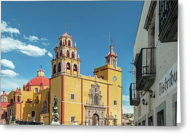 Mexico, Guanajuato, Our Lady Greeting Card