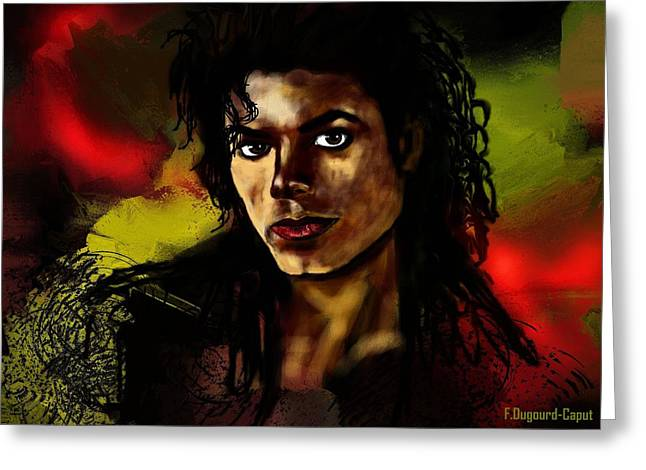 Michael Greeting Card by Francoise Dugourd-Caput