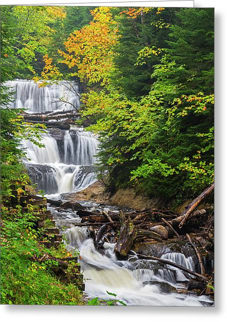 Michigan, Pictured Rocks National Greeting Card