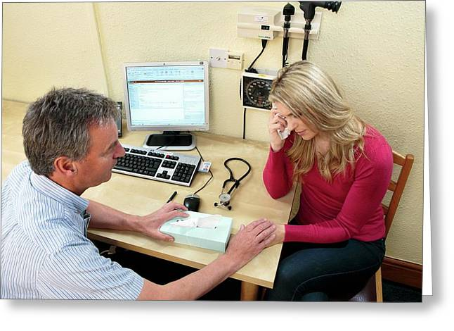 Migraine Consultation Greeting Card by Saturn Stills