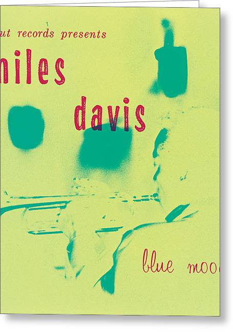 Miles Davis -  Blue Moods Greeting Card