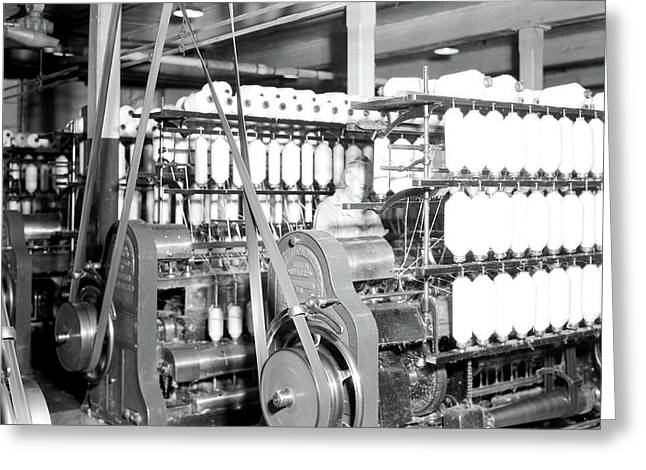 Millville, New Jersey - Textiles. Millville Manufacturing Co Greeting Card