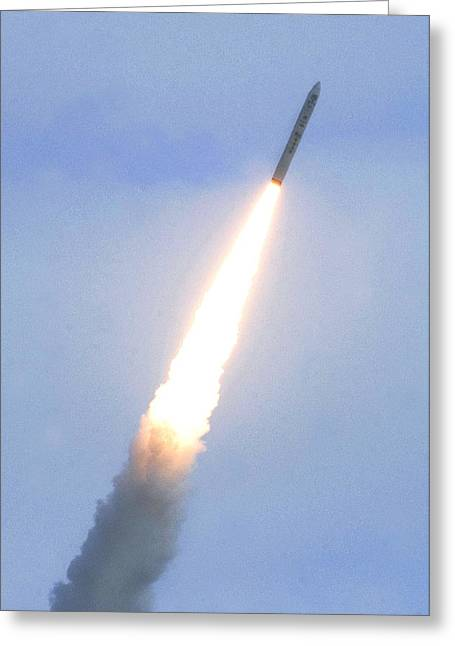 Minotaur Iv Lite Launch Greeting Card