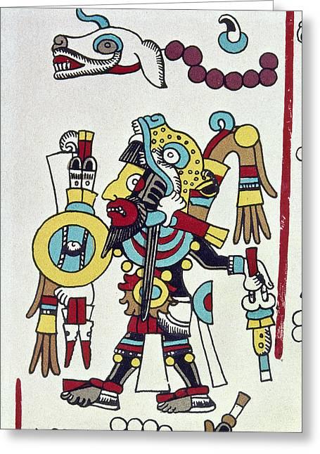 Mixtec Ruler Eight Deer Greeting Card