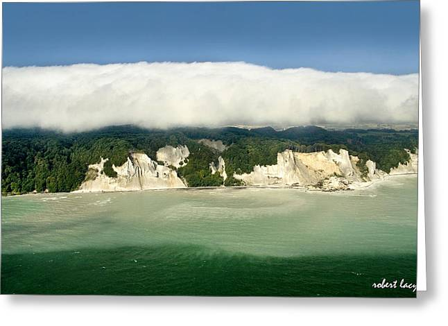 Moens Klint Greeting Card by Robert Lacy