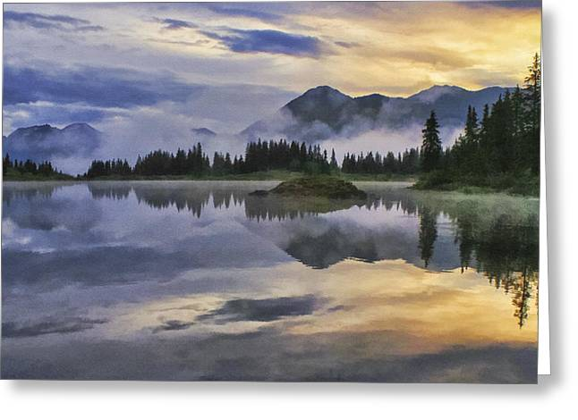 Molas Lake Sunrise Greeting Card