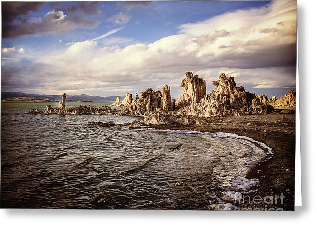 Mono Lake California Greeting Card by Colin and Linda McKie