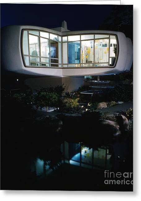 Monsanto House Of The Future By Marvin Goody, 1961 Greeting Card by The Harrington Collection