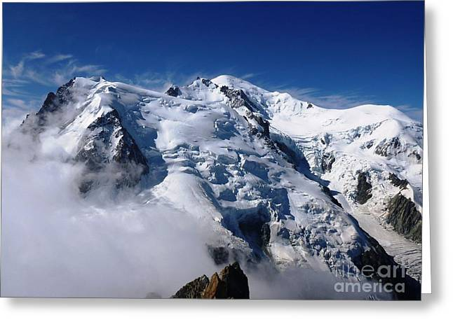 Mont Blanc - France Greeting Card
