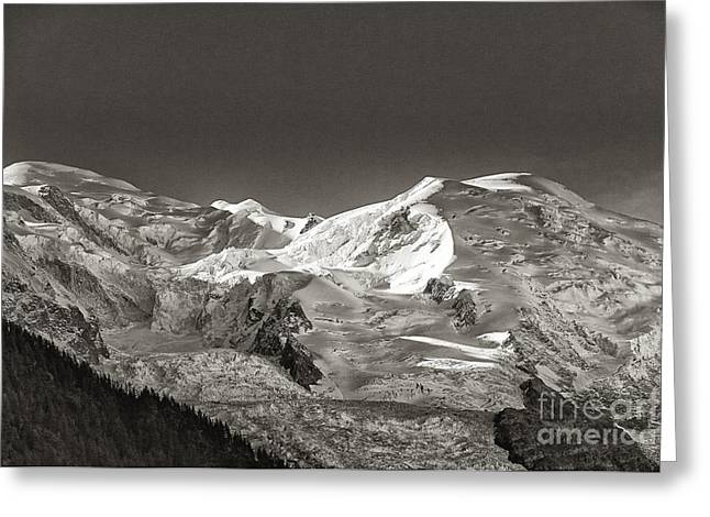 Mont Blanc Group Greeting Card by Juergen Klust
