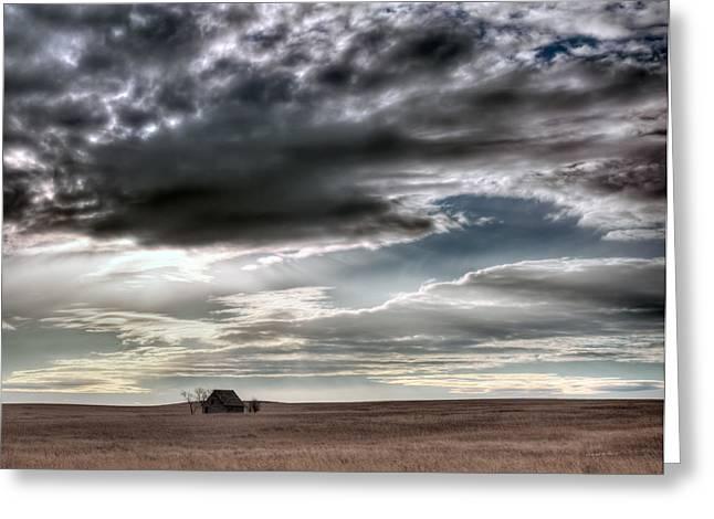 Montana Grasslands Greeting Card