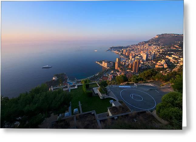 Monte Carlo Greeting Card by Ioan Panaite