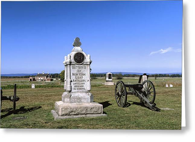Monument To Battery B, First New York Greeting Card by Panoramic Images