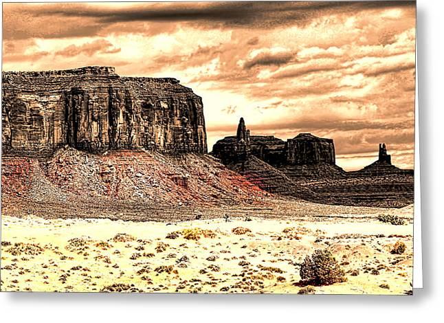 Monument Valley II Greeting Card by Tom Prendergast