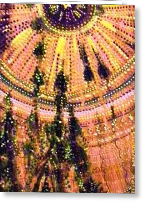 Moon Struck Greeting Card by Maria VanderMolen