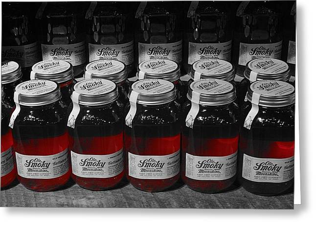 Moonshine Greeting Card by Dan Sproul