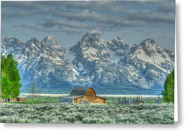 Mormon Row Barn Greeting Card