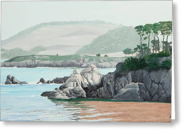 Morning At Point Lobos Greeting Card