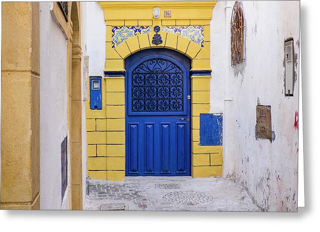 Morocco, Essaouira Greeting Card by Emily Wilson
