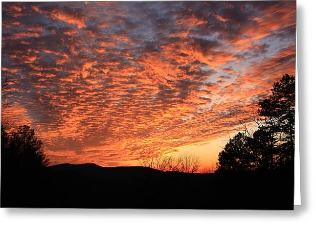 Mount Cheaha Sunset Alabama Greeting Card by Mountains to the Sea Photo