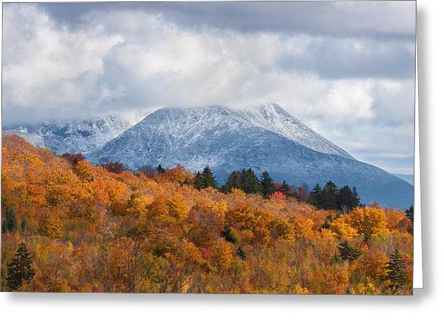 Mount  Katahdin Greeting Card