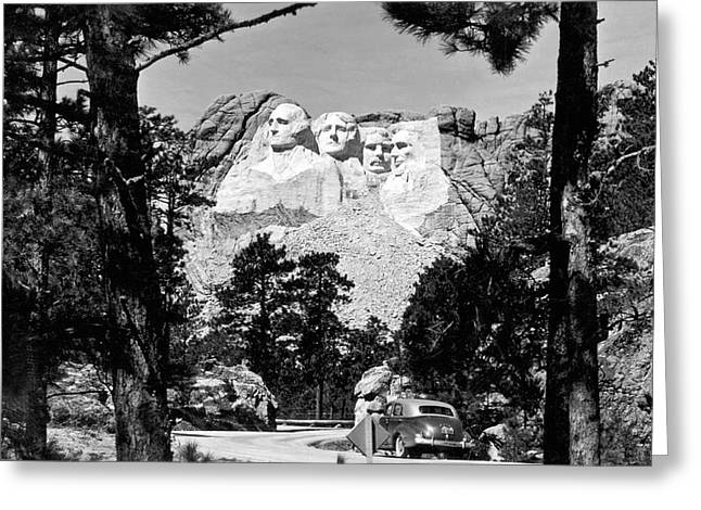 Mount Rushmore In South Dakota Greeting Card