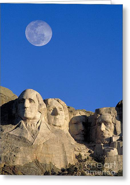 Mount Rushmore Greeting Card by Mark Newman
