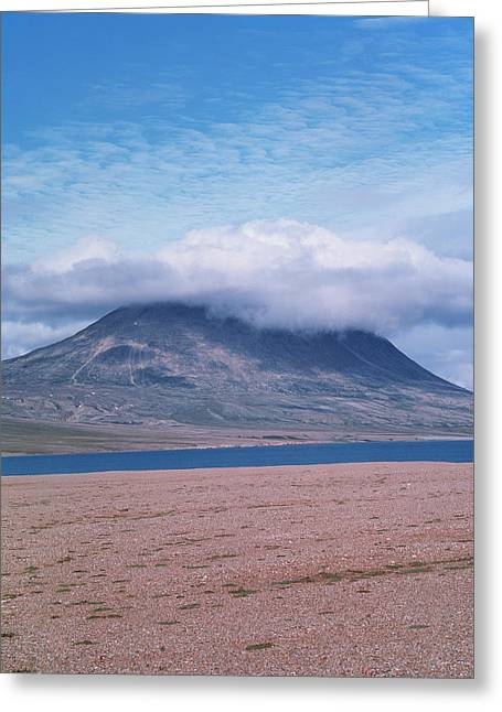 Mountain Cloud Greeting Card by Simon Fraser/science Photo Library