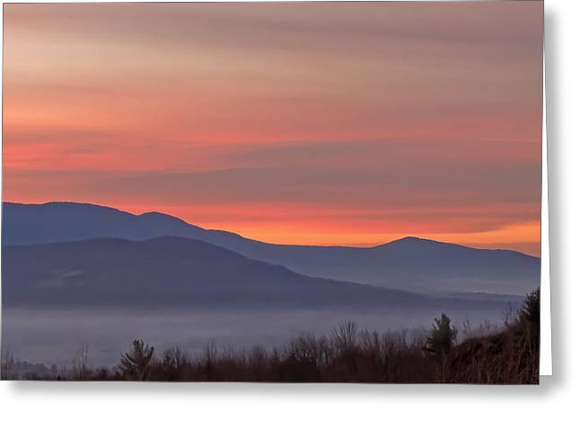 Mountain Sunrise 1 Greeting Card