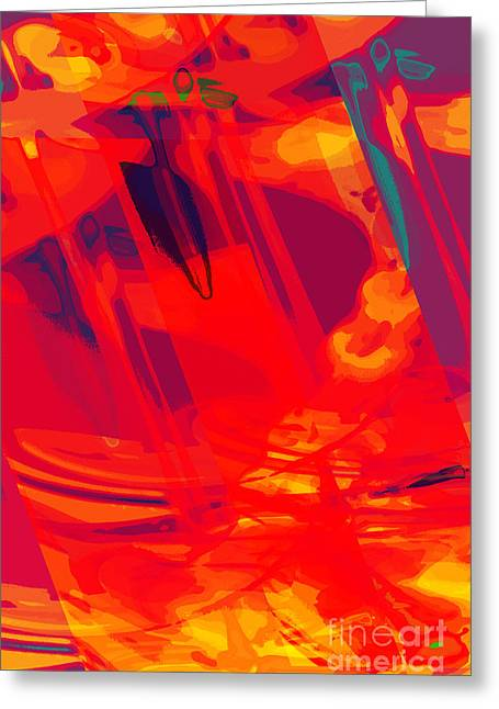 Moving Abstract Greeting Card