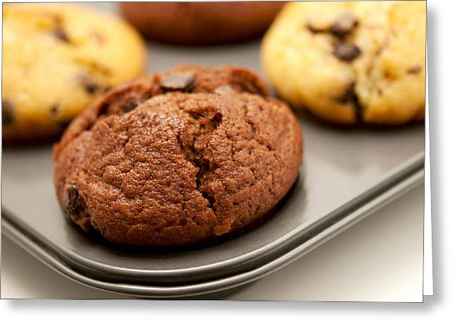 Greeting Card featuring the photograph Muffins by Fabrizio Troiani