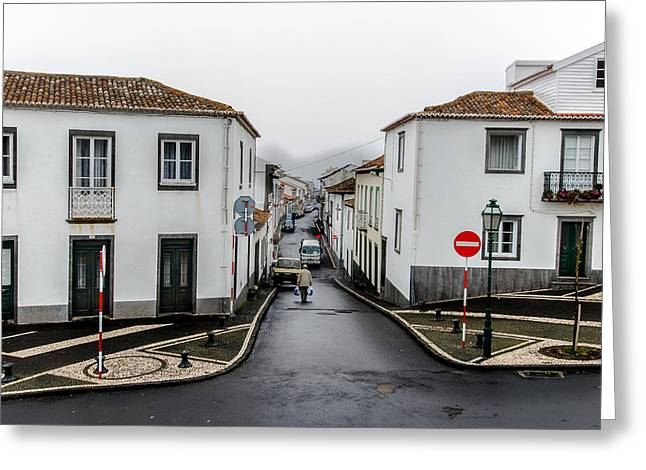 Municipality Of Ribeira Grande Greeting Card