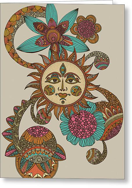 My Sunshine Greeting Card by Valentina
