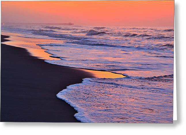 Myrtle Beach Sunrise Greeting Card