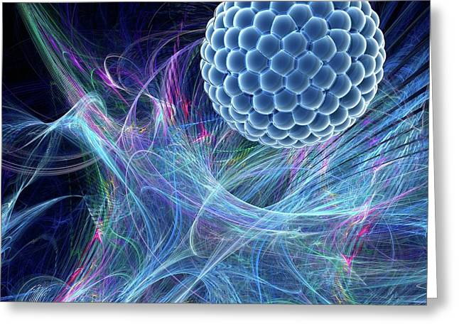 Nanoparticle Greeting Card by Laguna Design/science Photo Library
