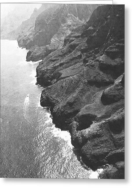 Napali Coast Of Kauai Greeting Card by Frank Wilson