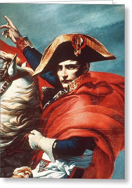 Napoleon Bonaparte (1769-1821) Greeting Card by Granger