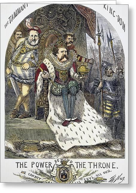 Nast Tweed Cartoon, 1870 Greeting Card by Granger
