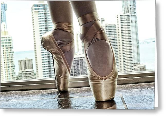 National Ballet Of Panama Greeting Card by