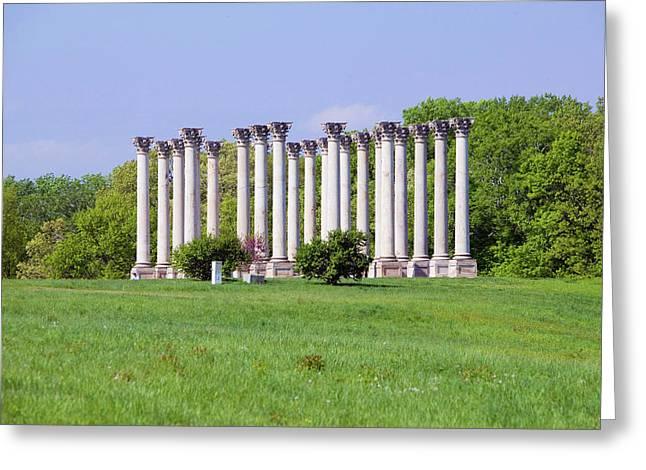 National Capitol Columns, Corinthian Greeting Card