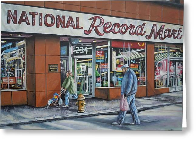 National Record Mart Greeting Card